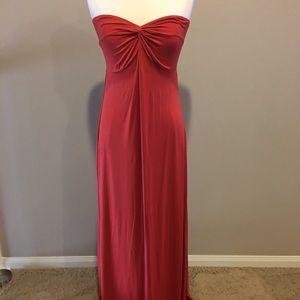 ASOS Brick colored maxi dress